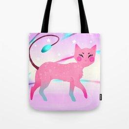 Colourful Cat Tote Bag