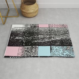 Analytical Geometry. A look at Russian Constructivism Rug