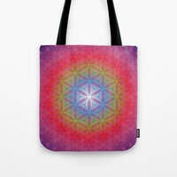 eternal sunshine Tote Bags featuring Eternal Sunshine by Dooda Creations