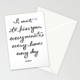 I Believe in a Thing Called Love Stationery Cards