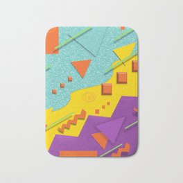 Nostalgic Pattern Bath Mat