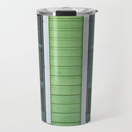 Green Creole Cottage Travel Mug