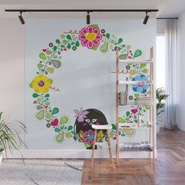 Flower Garland|Corona Florida Wall Mural