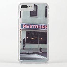 Monk's Clear iPhone Case