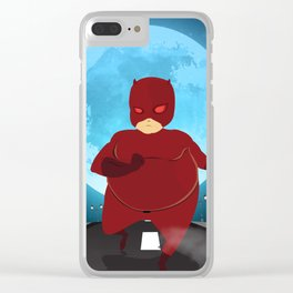 The Fat Heroes Clear iPhone Case