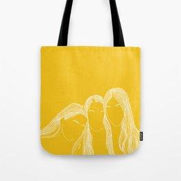 We are haim yellow Tote Bag