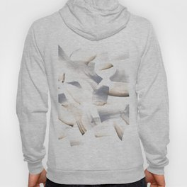 180630 Grey Black Brown Abstract Watercolour 11| Watercolor Brush Strokes Hoody
