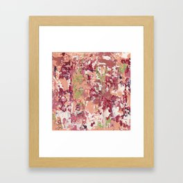 Dreaming of Sand and Chili Framed Art Print