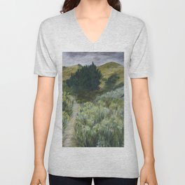 Boise Foothills no. 2 Unisex V-Neck