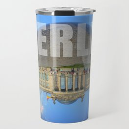 BERLIN Reichstag / Glass Ball Photography Travel Mug