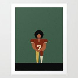 Colin Kaepernick Art Print