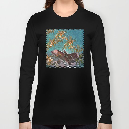 Vulture Rise of the Fire Wizard Long Sleeve T-shirt