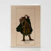 valar morghulis Stationery Cards featuring Orome by wolfanita