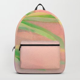 two pink tulips Backpack
