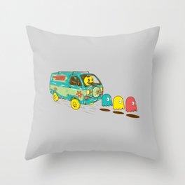Loan Van Throw Pillow