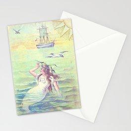 Vintage Little Mermaid Stationery Cards