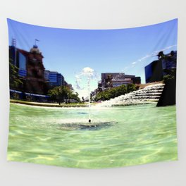 Victoria Square - Adelaide Wall Tapestry