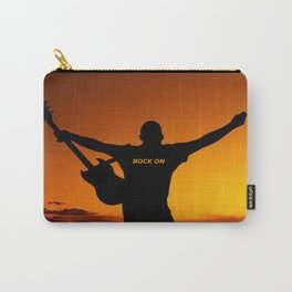Sunset Guitar Man Silhouette Carry-All Pouch
