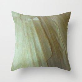 Garlic Skin Throw Pillow