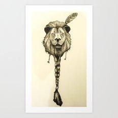 Lionelle Art Print