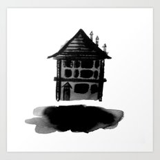 Floating Home Art Print