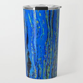 blue flow Travel Mug
