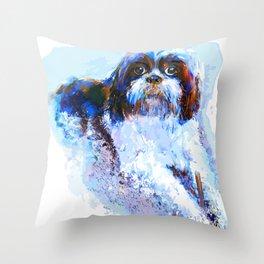 Shi-tzu Throw Pillow