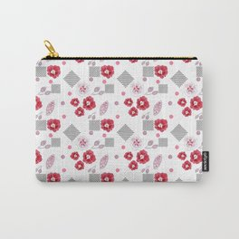 Watercolor . Red poppies . Carry-All Pouch