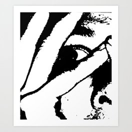 Face 05 Art Print