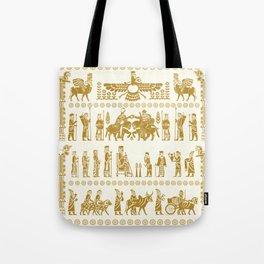 The Apadana or Audience Hall of Persepolis Design Tote Bag