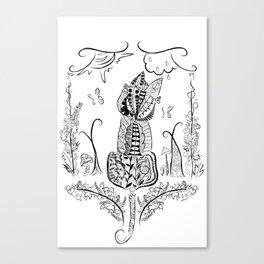 Florcat Canvas Print