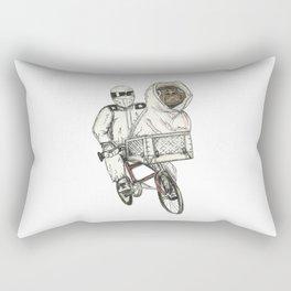 Stig Test Drives Bike From Iconic Bike Scene in ET Rectangular Pillow