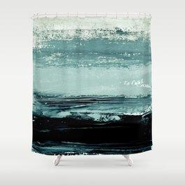 abstract minimalist landscape 4 Shower Curtain