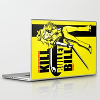 kill bill Laptop & iPad Skins featuring Kill Bullet Bill by Shana-Lee