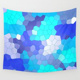 Blue Glass Wall Tapestry