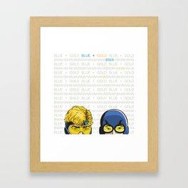 Bwa Ha Ha Framed Art Print