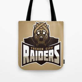 Tusken City Raiders - Tan Tote Bag