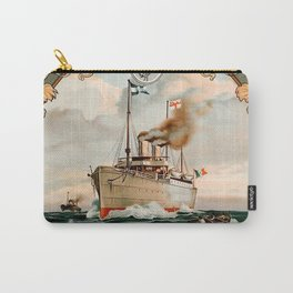 La Veloce Vintage Travel Poster Carry-All Pouch