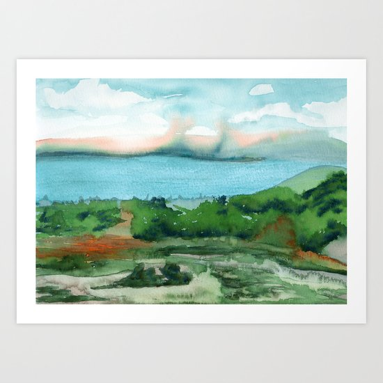 Passing Afternoon Art Print