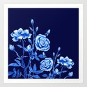 blue rose by colorandcolor