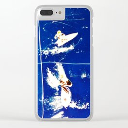 SURF CARNIVAL        by Kay Lipton Clear iPhone Case