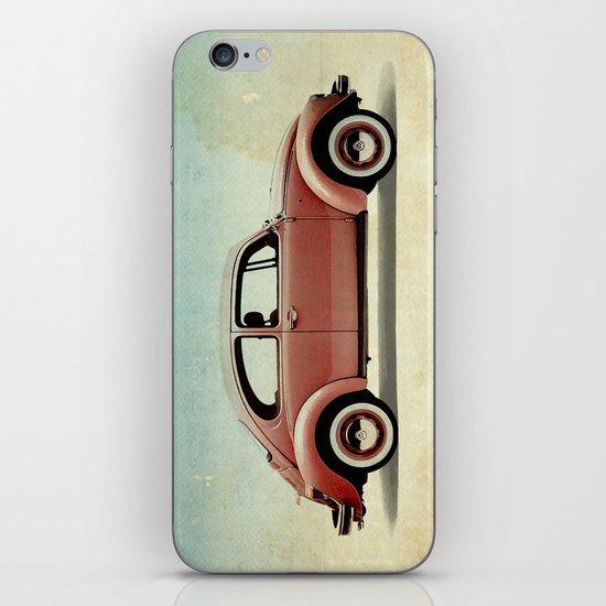 red vintage car iPhone & iPod Skin