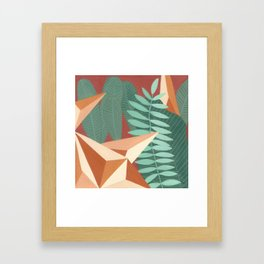 terracota Framed Art Print