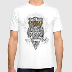 The Secret Keeper White Mens Fitted Tee SMALL