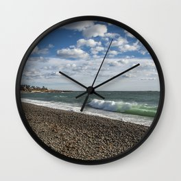 Pebble beach 1.12.20 Wall Clock