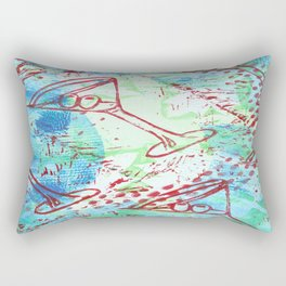 last call  Rectangular Pillow