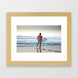 Adriano Desouza, Hossegor- France - 2013 Framed Art Print