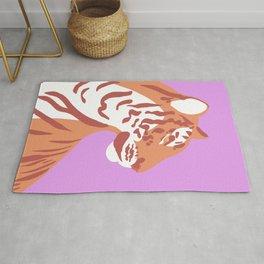 Tiger - Orange Rug