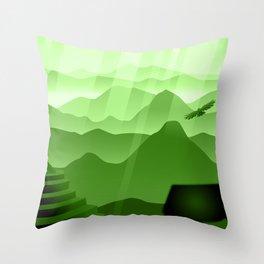 Inca Gate Throw Pillow