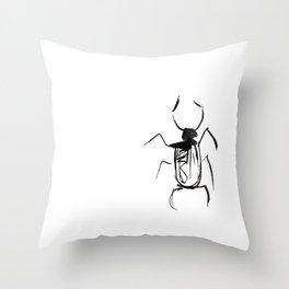 bug #2 Throw Pillow